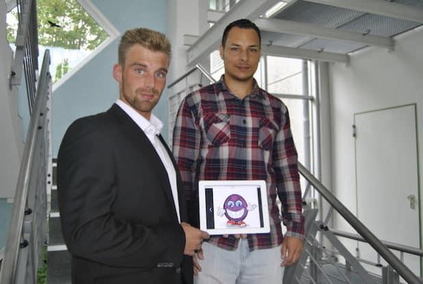 Teil des BubCon-Teams: (v.l.) Dennis Dörr und Jeffrey Reed