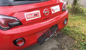 Gummersbach: Kennzeichen entwendet