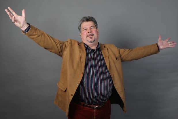 Herzlich Willkommen sagt der Geschäftsführer des Schau-Spiel-Studio-Oberberg Thomas Knura (Foto: Christian Melzer)