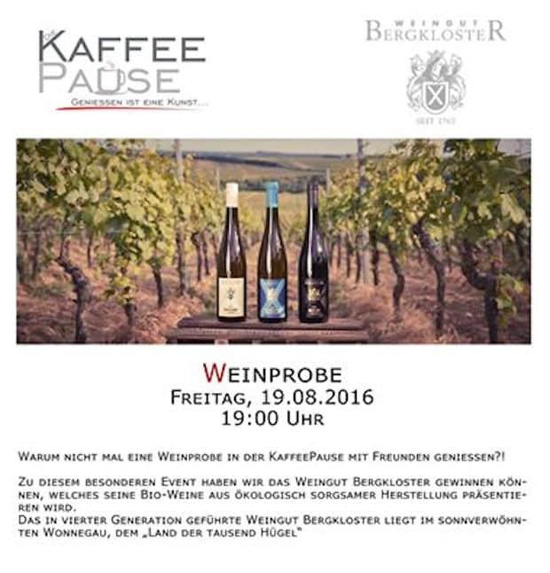 Photo of Reichshof: Weinprobe und Konzert im KaffeePause