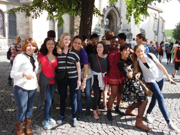 Die Jugendlichen des Congress-Bundestag Youth Exchange leben für zehn Monate in Deutschland in einer Gastfamilie, gehen auf eine weiterführende Schule und lernen die deutsche Kultur näher kennen. (Foto: Partnership International e.V.)