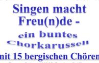 Wiehl: Großes Chorkarussell in Bielstein