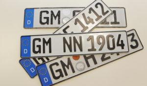 Straßenverkehrsamt warnt vor kommerziellen Internetanbietern von Wunschkennzeichen