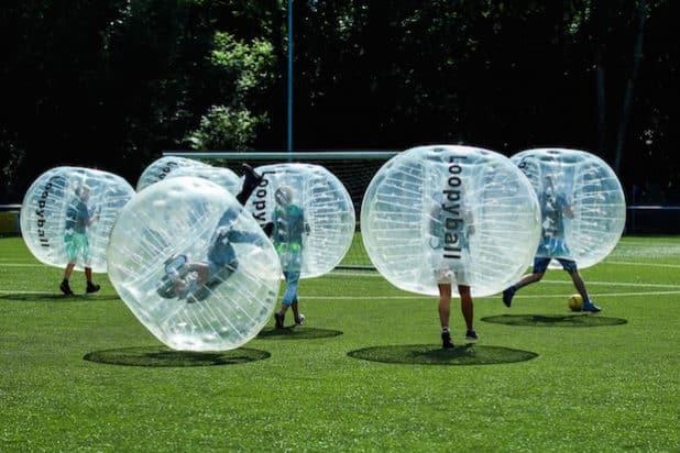 Loopy-Balls im Einsatz (Foto: Eric Schneider)