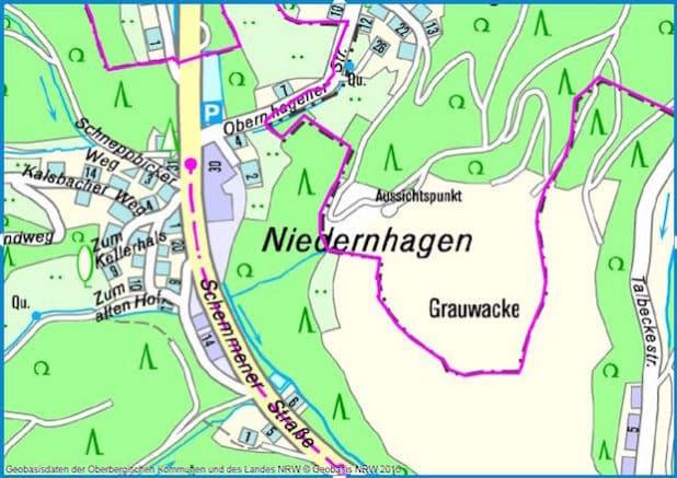 In Gummersbach-Niedernhagen wird der Bachdurchlass erneuert. (Grafik: RIO OBK)