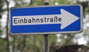 Baustelle: Gummersbacher Straße wird Einbahnstraße