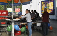 CJD'ler unterstützen REWE-Markt in Bergneustadt
