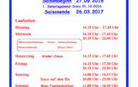 Eishallensaison 2016/17 in Wiehl