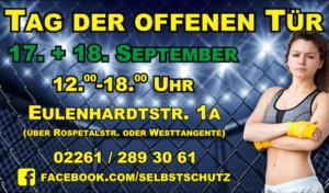 Tag der offenen Tür: All-Aacht Kampfkunst-Akademie Gummersbach