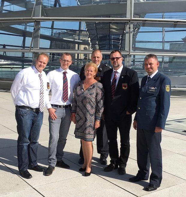 Photo of DLRG Gummersbach e.V. zu Besuch im Deutschen Bundestag
