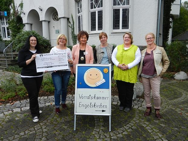 Photo of Spende für die Vorratskammer Engelskirchen