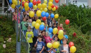 """Aktionstage """"Zu Fuß zur Schule"""" an der Gemeinschaftsgrundschule Wiehl"""