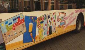 "OVAG-Bus als ""rollender Botschafter"" gegen Alkoholmissbrauch"