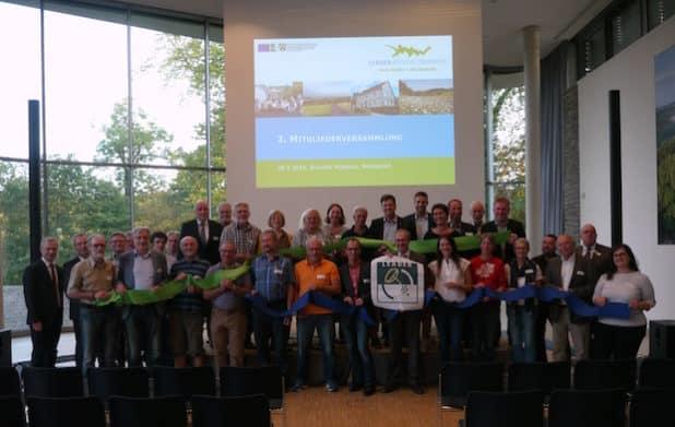Der Kulturlandschaftsverband Oberberg zieht bei der LEADER Umsetzung gemeinsam an einem Strang. Foto: Kulturlandschaftsverband Oberberg