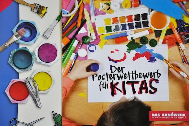 Photo of Poster-Wettbewerb bringt Kita-Kinder in Handwerksbetriebe