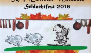 MGV Eintracht Morsbach feiert sein 22. Schlachtfest