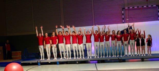 """Showteam """"Artistic Jumpers"""" Foto: Sven Oliver Rüsche"""