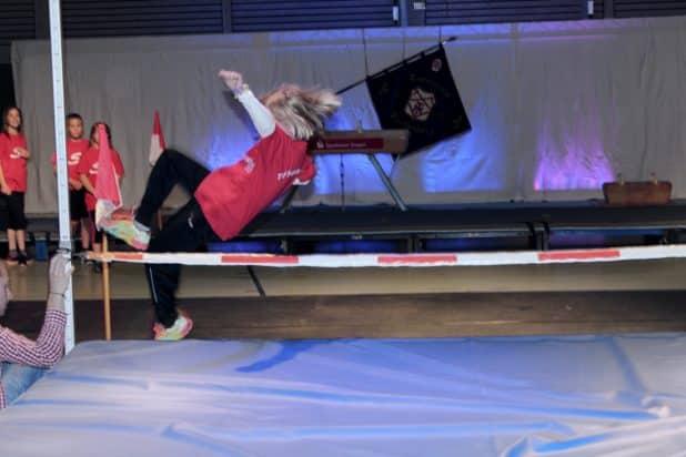 THV-Leichtathletik Schülergruppe unter der Leitung von Uwe Beste Foto: Sven Oliver Rüsche