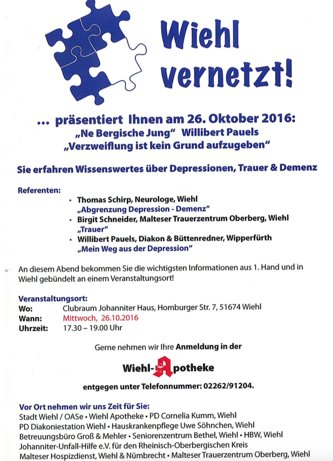 Photo of Veranstaltungen: OASe der Stadt Wiehl
