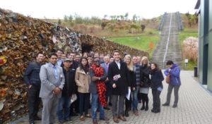 Die Internationale Akademie für Führungskräfte zu Besuch auf dem Projektstandort :metabolon