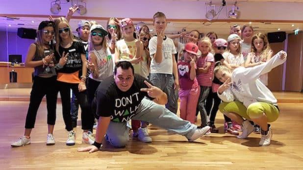 Die Kinder der Tanzwerkstatt in der ADTV Tanzschule Kasel (Quelle: ADTV Tanzschule Kasel)