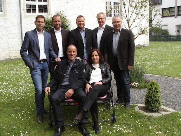 Vorstellung Prinzenpaar 2017 mit Vorstand - Foto: Juppi Steinfort