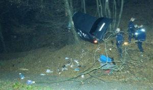 Nümbrecht: Zu hohe Geschwindigkeit und Handynutzung führte zum Unfall
