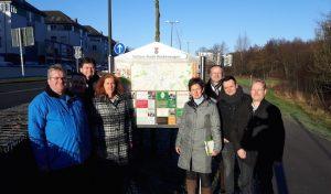 Hückeswagen: Neues Hinweisschild am Radweg