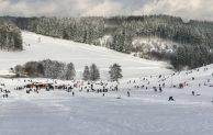 Ski und Rodel gut – Tausende Wintersportler besuchten die Orte Blockhaus und Hahn