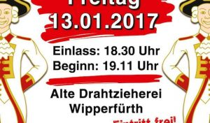 Funkenbiwak der KG Baulemann am 13.01.2017