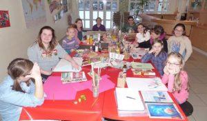 Bergneustadt: Kleine Künstler in der Kunstschule