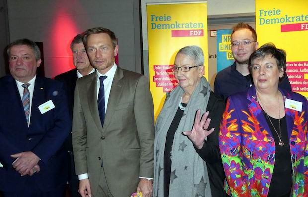 Photo of Christian Lindner in Wipperfürth