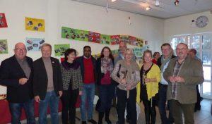 Neujahrsempfang beim Förderkreis für Kinder, Kunst & Kultur