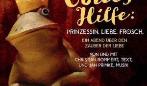 """""""Ja, mit Gottes Hilfe: Prinzessin. Liebe. Frosch."""""""