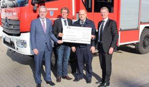 Wipperfürth: Geburtstagsgeschenk der Volksbank zum Stadtjubiläum