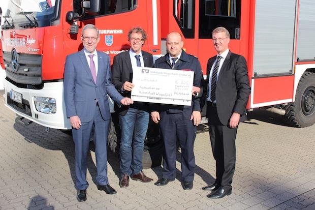 Photo of Wipperfürth: Geburtstagsgeschenk der Volksbank zum Stadtjubiläum