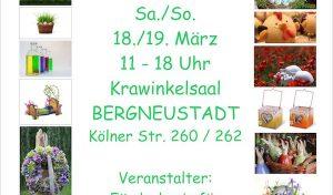 Frühlings-Kunsthandwerkermarkt in Bergneustadt