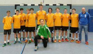 Die Gesamtschule Marienheide ist Bezirksmeister in der WK II Jungen