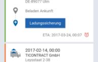 Transporeon präsentiert neue Generation der Mobile Order Management App