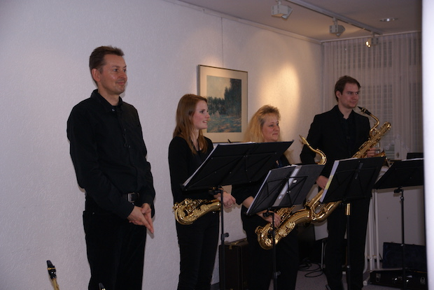 Photo of Jazz4Saxes im Seniorenzentrum Bethel