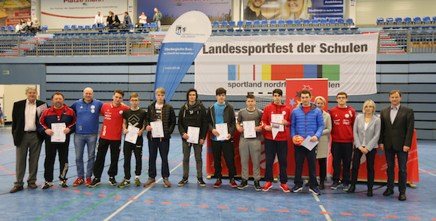 Photo of GE Marienheide beim Handballlandesfinale in Gummersbach