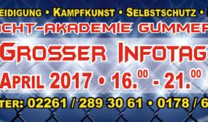 Gummersbach: INFOTAG der All-Aacht Kampfkunst-Akademie