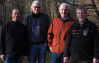 Grüne informieren sich über das Naturschutzgebiet Neyetalsperre
