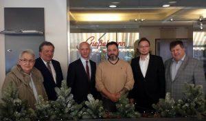 Landtagsabgeordneter besucht Bäckerei Gießelmann