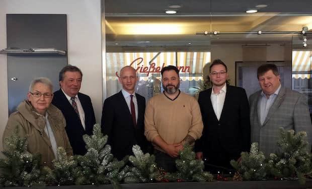 Photo of Landtagsabgeordneter besucht Bäckerei Gießelmann