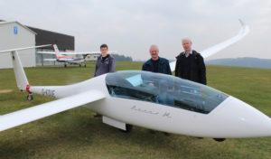 Luftsportclub-Dümpel e.V. stellt neuen Segelflieger vor