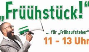 "Frühlings-Frühstück für ""Frühaufsteher"""