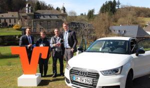 Volksbank-Kunde gewinnt Audi A1 design
