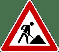Baustelle-CopyrightFreePictures-Verkehrsbehinderungen-Neubau-B256-Suedring-B483