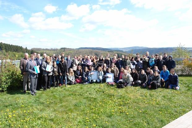 Photo of Kooperation des Bergischen Abfallwirtschaftsverbands und der Realschule Gummersbach Steinberg